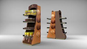 استند شکلات مخصوص قنادی